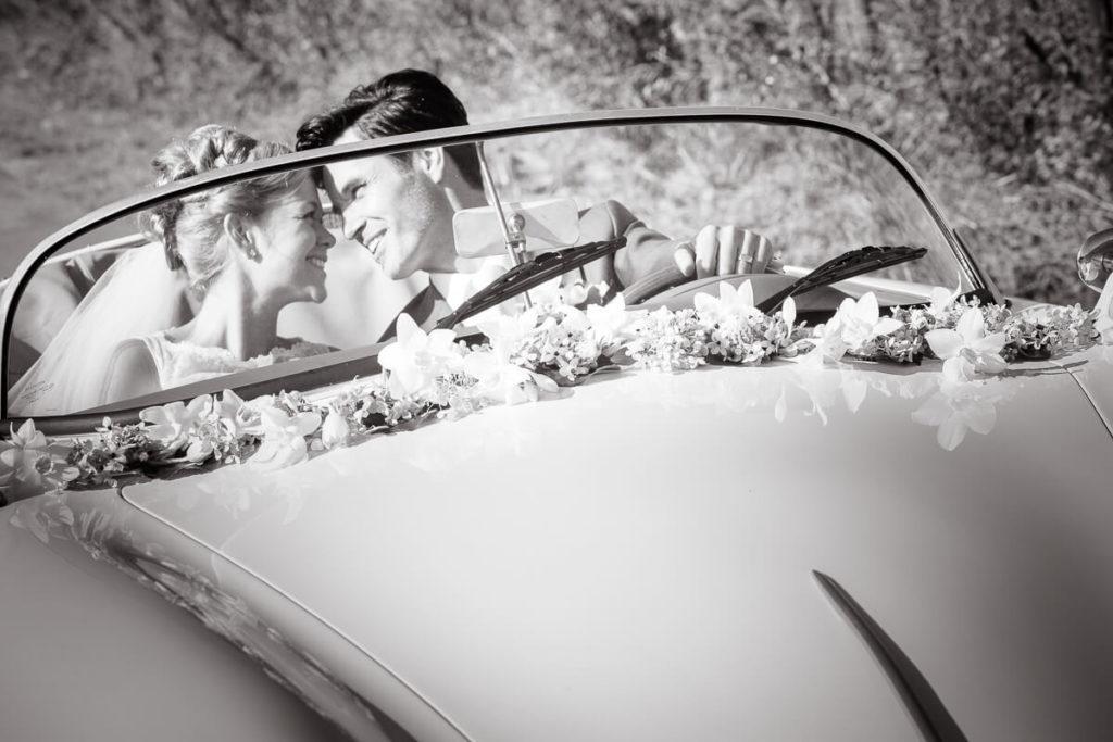 Mooie trouwfoto's gemaakt door fotograaf