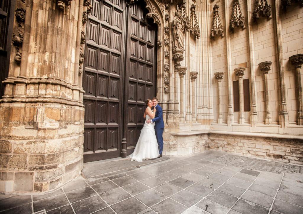 Trouwfoto Sint Jan Kathedraal Den Bosch