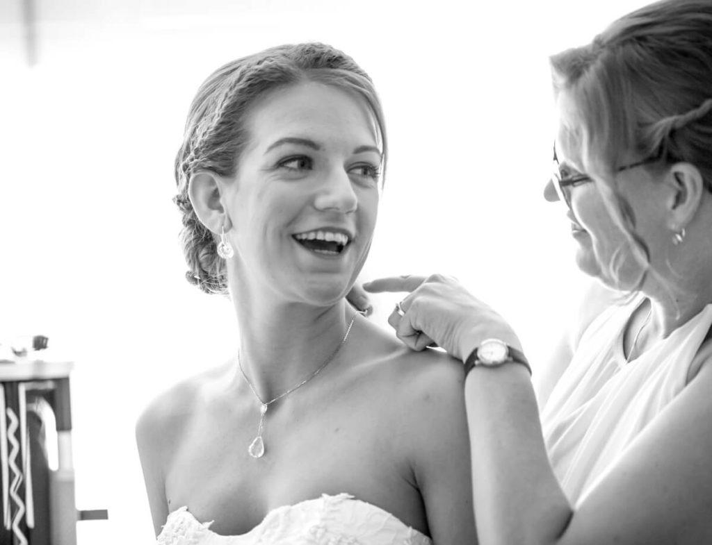 Voorbereidingen trouwdag