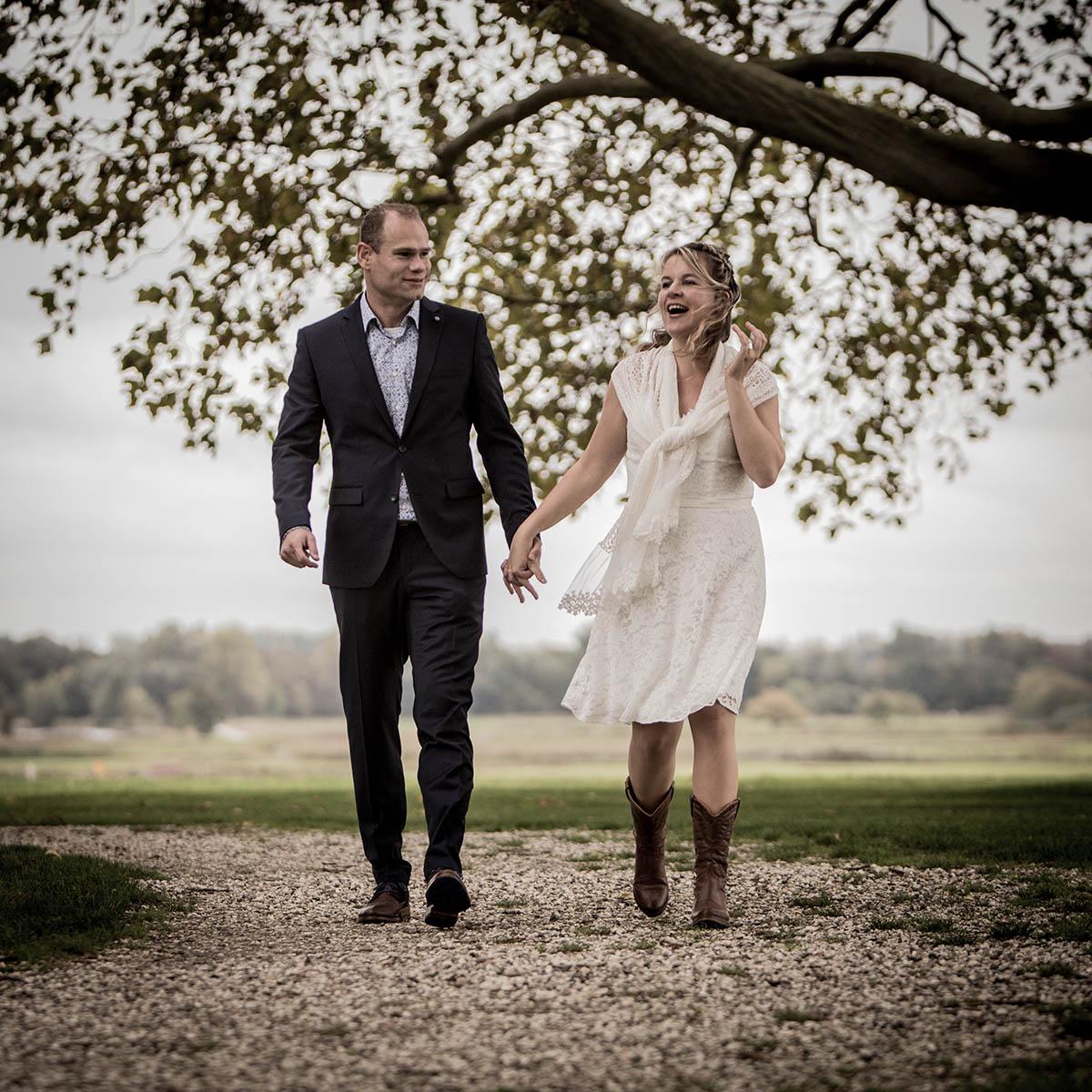Trouwfotograaf Den Bosch maakt trouwreportage
