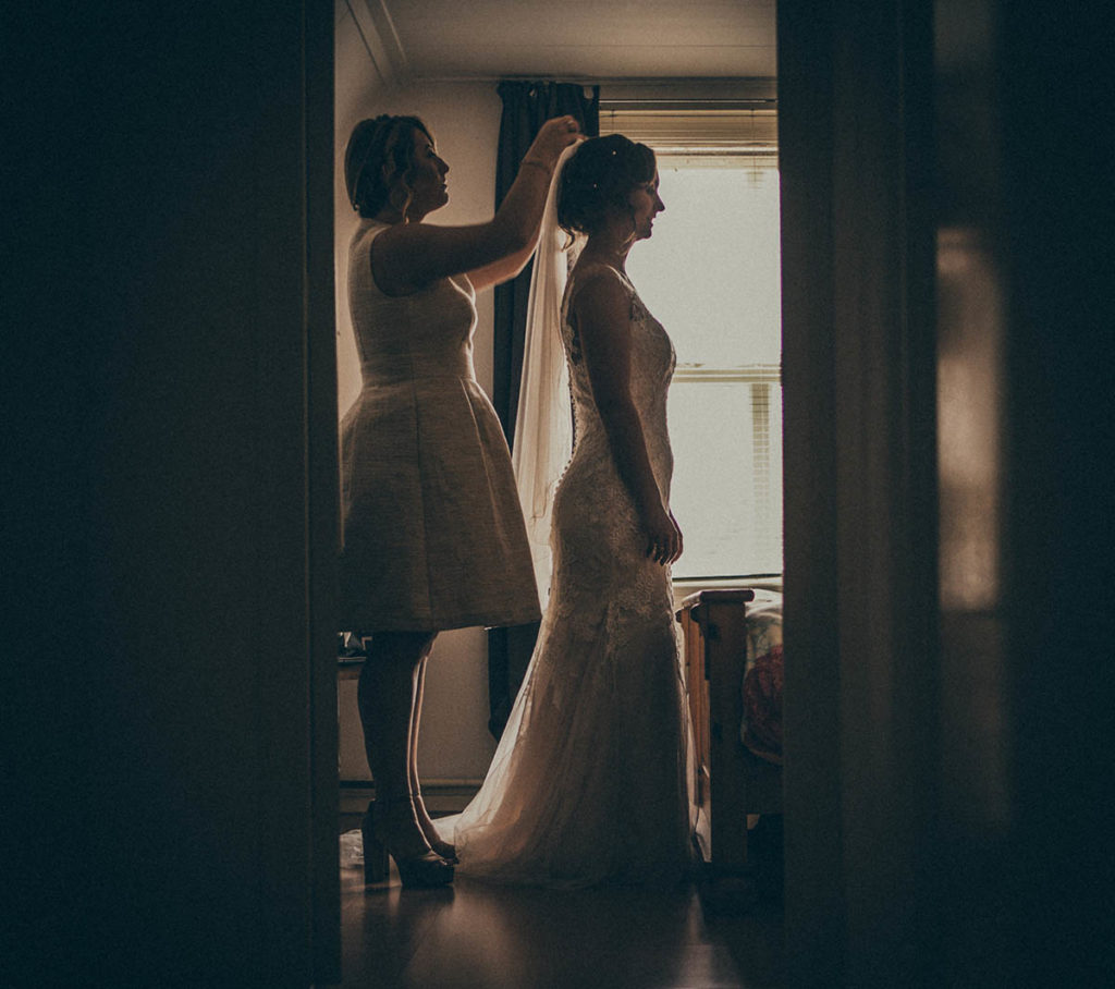 Voorbereidingen detail trouwdag