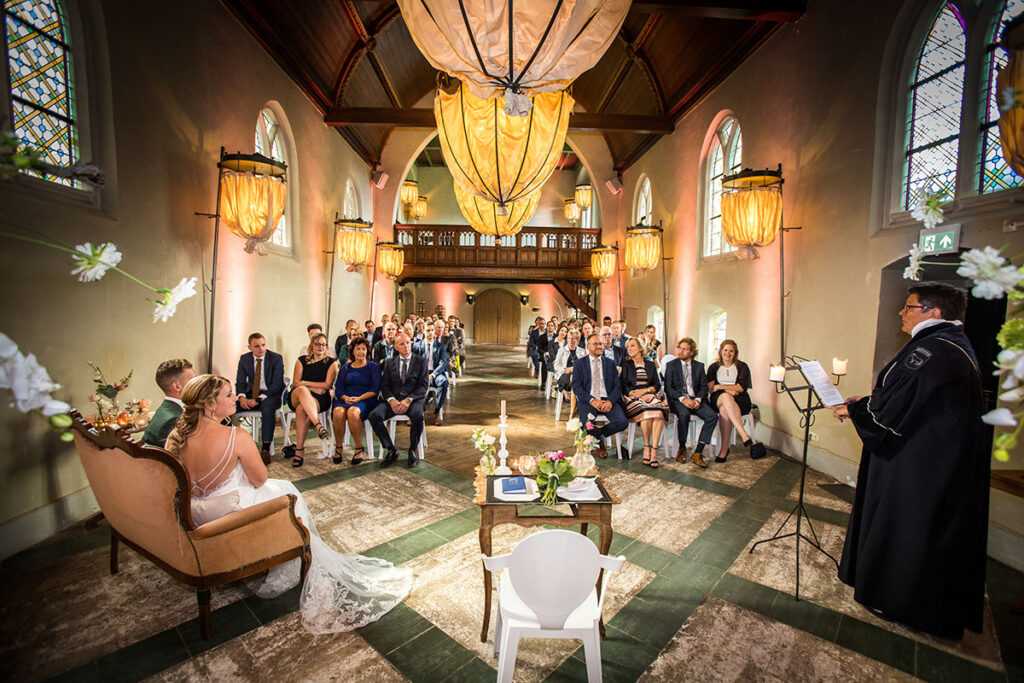 Klooster Bethlehem Haren trouwceremonie