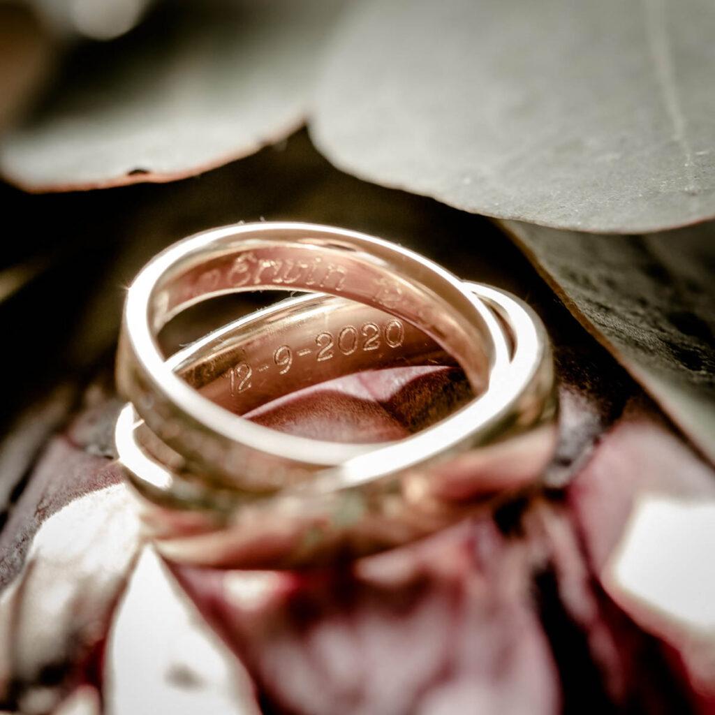 Trouwringen fotografie trouwen