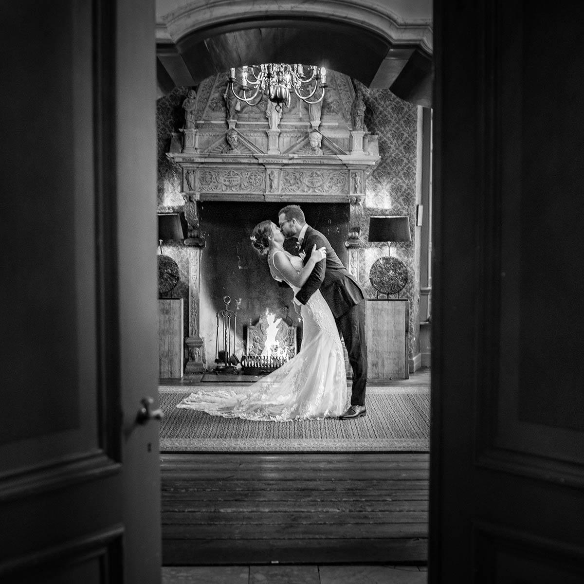 Kunstzinnige trouwfotografie op kasteel Echteld