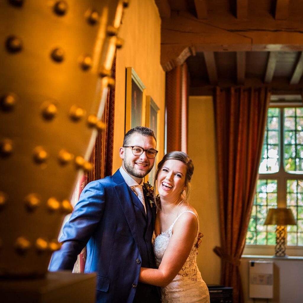 Binnen bij Kasteel Wijenburg Echteld trouwen